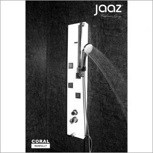 CORAL - Black Shower Panel