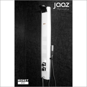 MONET - White Shower Panel - Thermostatic