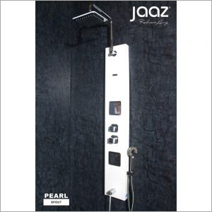 PEARL - Black Shower Panel