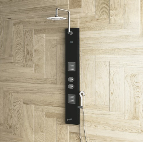 PEARL - White Shower Panel