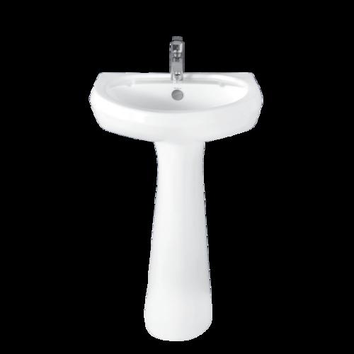 Pleco Basin Full Pedestal