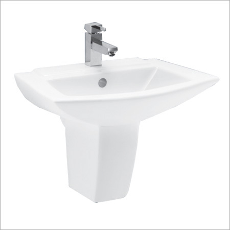 Sprat Wash Basin Half Pedestal