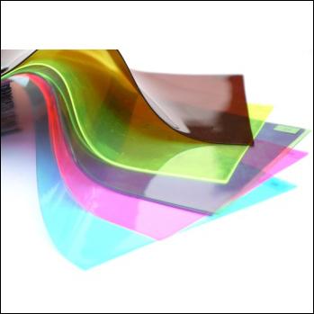 Transparent Colored Rigid PVC Film