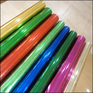 Metalised Pvc Film