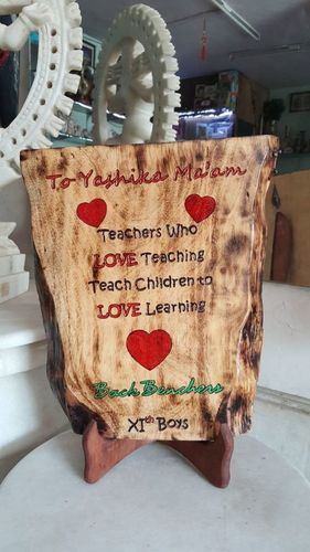 Wooden Engraving Gift Item