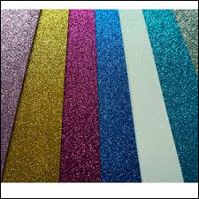 Glitter Sheets For CD Sequins