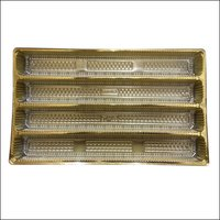 Golden Sweet Tray ( 4 Line Inner)