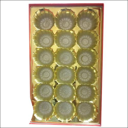 Golden Sweet Tray (18 Laddoo Tray)