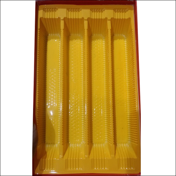 Opaque Colored Sweet Trays