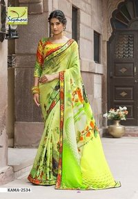 Printed Casual Saree