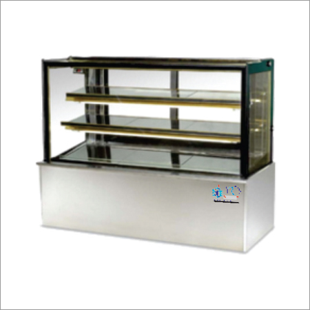 Display Counter With Plain Glass