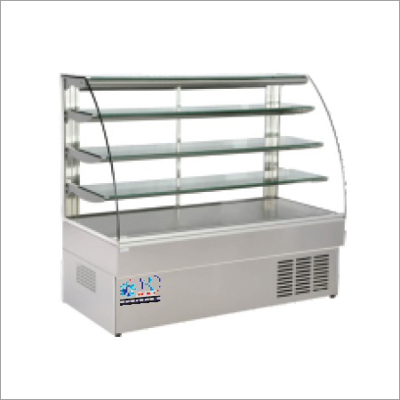 Display Counter J Type Glass