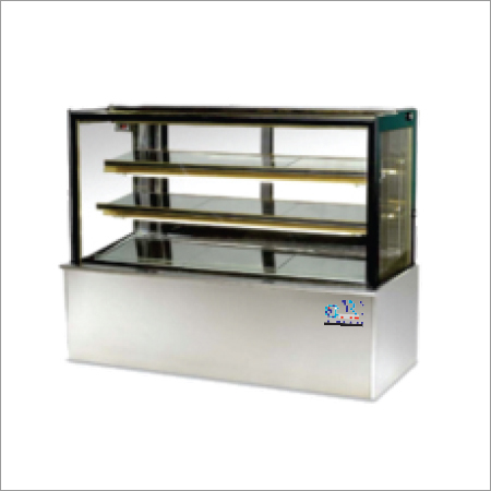 Square Glass Type Display Fridge
