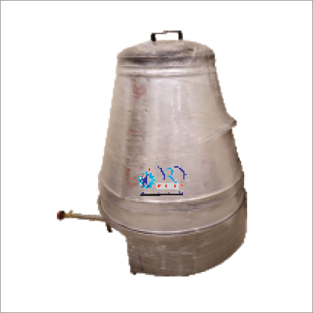 Metallic Gas Tandoor
