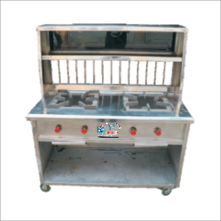 Two Burner Gas Counter