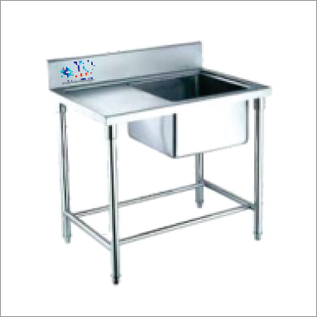 Stainless Steel Table With 1 Sink