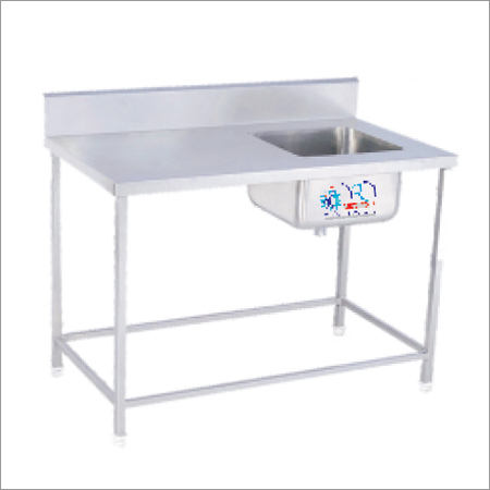 Stainles Steel Table With 1 Sink