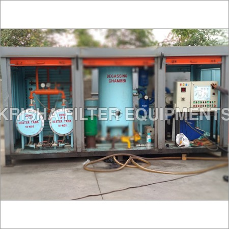 Trolley Mounted Oil Filtration Machine