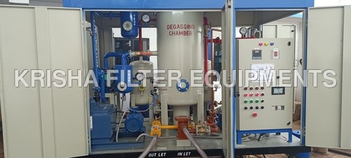 Transformer Oil Change Machine