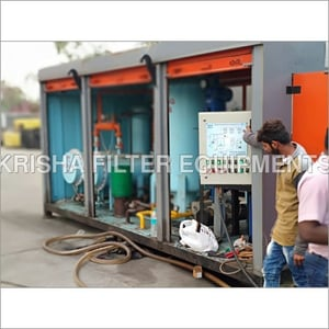 Trolley Mounted Filtration Plant