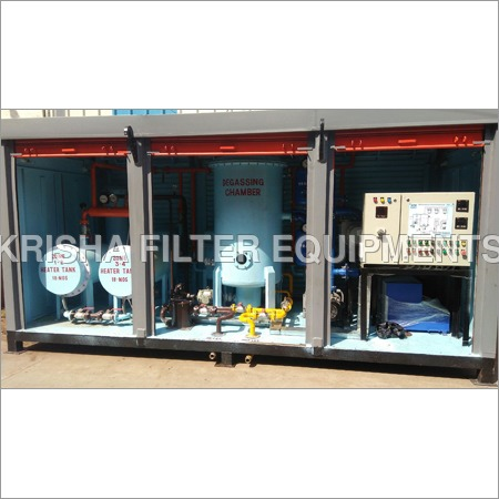 Two Stage High Vacuum Transformer Oil Filtration Plant