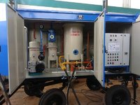 Two Stage Oil Filtration Plant