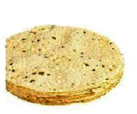 Plain & Spicy Papads