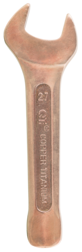 Copper Titanium Non Sparking Slogging Open Wrench