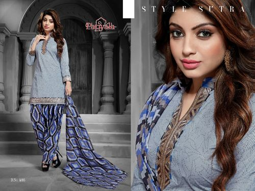Latest Patiyala Cotton Dress Material