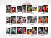 Multi Color Patiala Dress Material