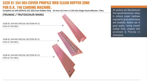 COVER PROFILE WEB CLEAN DOFFER ZONE