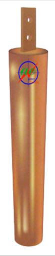 Copper pipe-in-strip earthing electrode