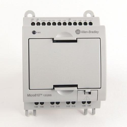 Micro 810 PLC 2080-LC10-12QWB 8IN 24VDC, 4AIN