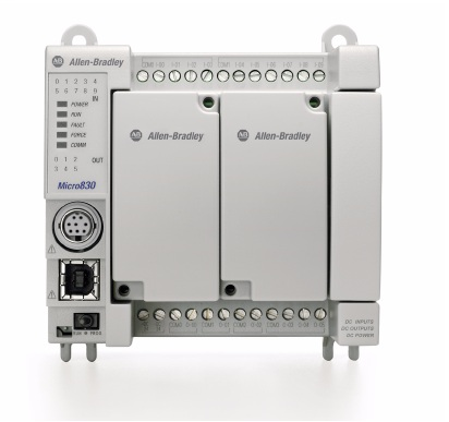 Micro 830 PLC 2080-LC30-16QWB 10IN 24VDC/VAC,6RELY