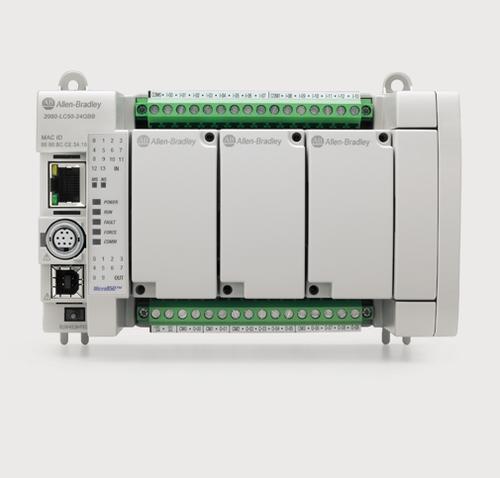 Allen Bradley Micro 870 Plc 2080-LC70-24QWB