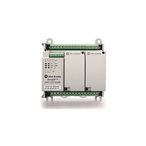 MICRO 820 PLC 2080-LC20-20QWB 16IN 8OUT 24VDC