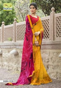 Designer Border Saree