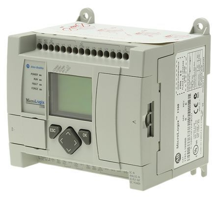 Mirco Logix 1100 1763-L16BWA 10IN 8OUT 24VDC