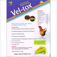 Poultry toxin binder