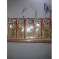 Plastics Pouches For Real Juice