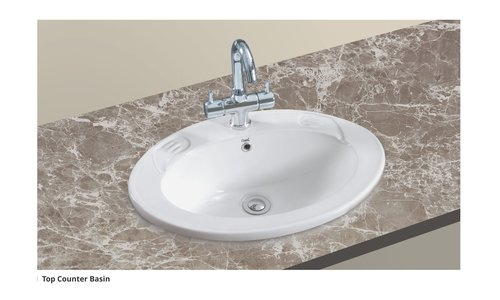 top counter basin