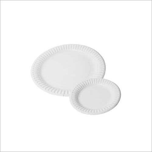 Round Disposable Dinner Plate