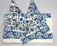 Cotton Block Printed Bedsheet