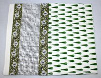 Blcok Printed Bedsheet with Pillow Cover