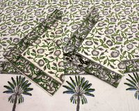 Hand Block Print Cotton Bedsheet Set