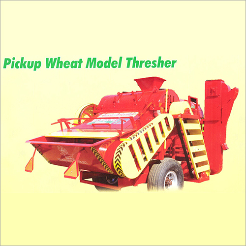 Pickup Wheat Model Thresher