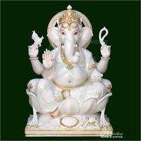 Marble Ganesh Lord Murti