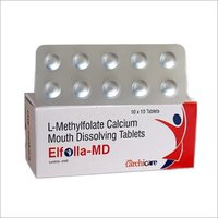 L-Methylfolate Calcium 1 mg.