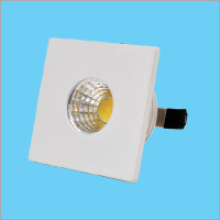 1W LED Button Square Light