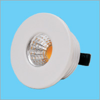 3W LED Button Round Light